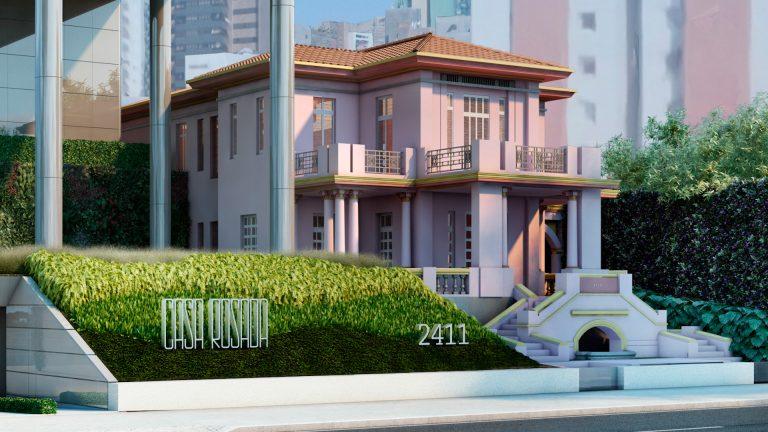 Gustavo Penna,  Ângela Roldão e Tânia Salles criam projetos feito para o Ed. Casa Rosada