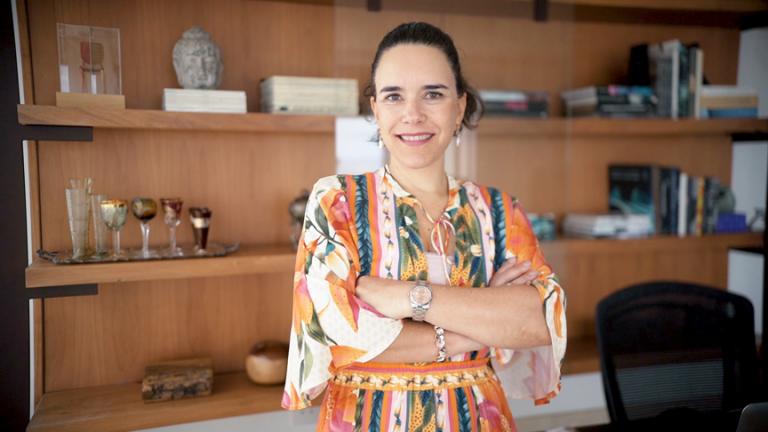 Apartamento do Icone tem proposta arquitetônica de Helena Rios